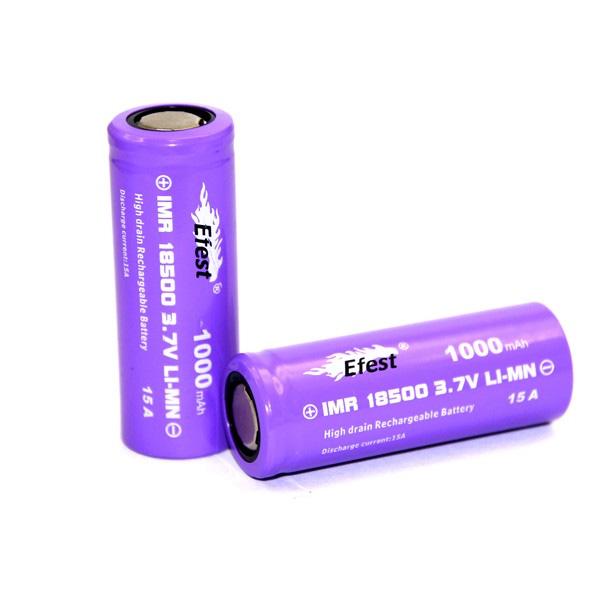 E Fest 18500 Rechargeable Battery - Fresh Mist