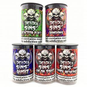 5 x Deadly Sins 50/50 Offer