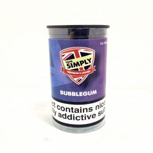 Bubblegum E-Liquid By Simply Vapour