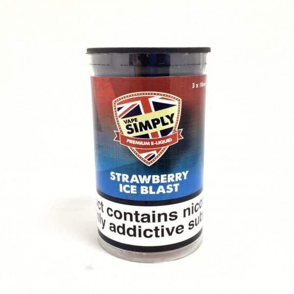 Strawberry Ice Blast – Simply Vapour