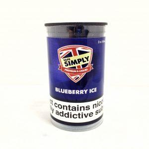 Blueberry Ice - Simply Vapour E Liquid