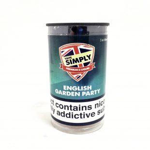 English Garden Party - Simply Vapour E Liquid