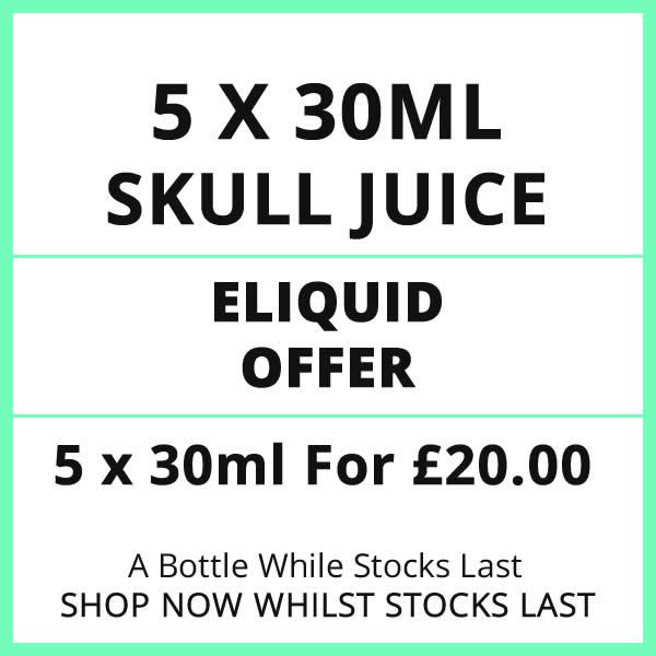 Skull Juice 5 Bottle Eliquid Offer