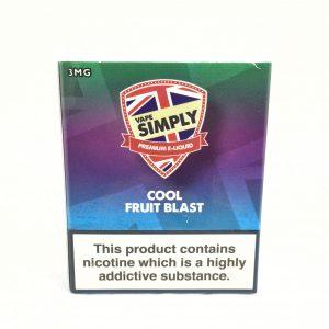 Cool Fruit Blast - Simply Vapour E Liquid