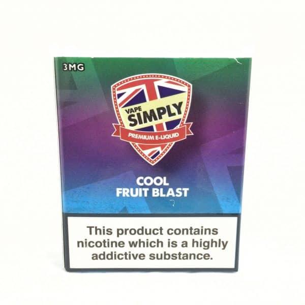 Cool Fruit Blast – Simply Vapour