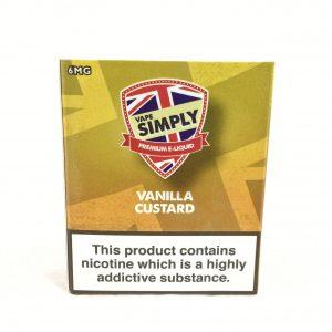 Vanilla Custard - Simply Vapour E Liquid