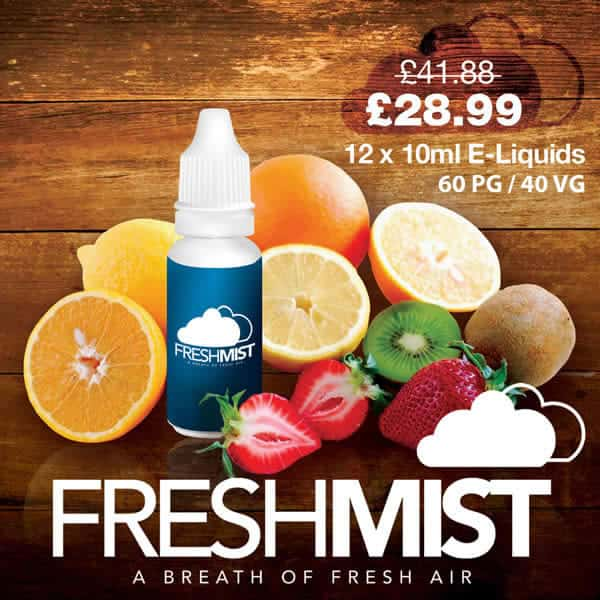 12 x E Liquid Multi Buy Offer
