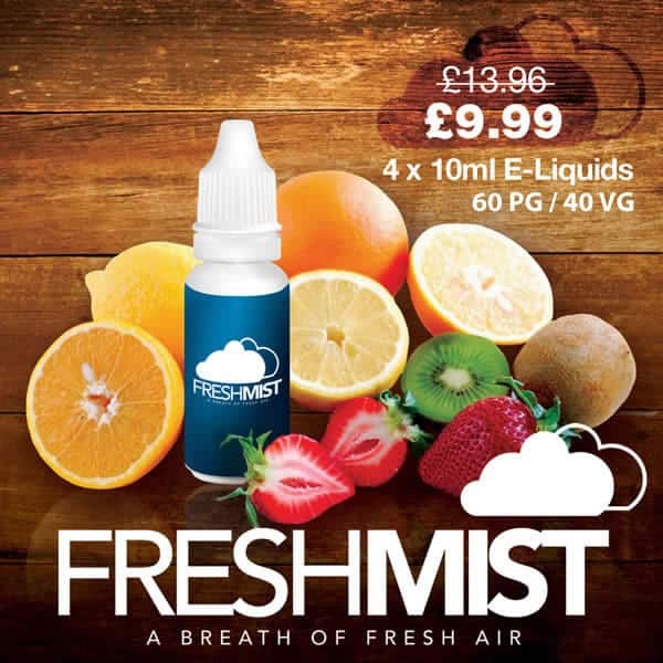 4 x E Liquid Multi Buy Offer