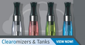 Clearomizers & Tanks Banner