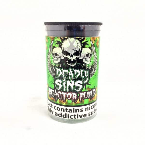 Reactor Fluid E-Liquid By Deadly Sins