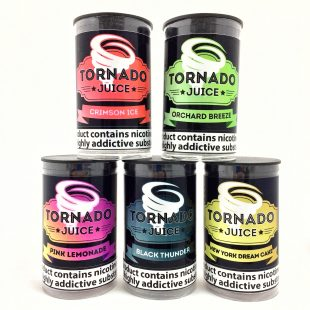 5 x Tornado Cloud E Liquid Juice Offer