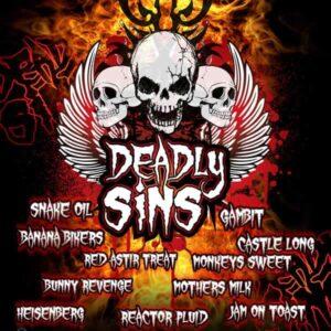 Deadly Sins Multibuy Eliquid