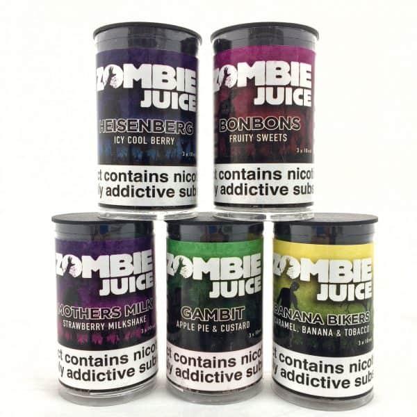 5 x Zombie Juice 80/20 Offer