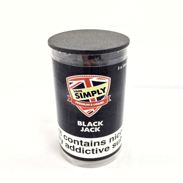 Blackjack E-Liquid By Simply Vapour