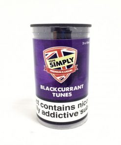 Blackcurrant Tunes E-Liquid