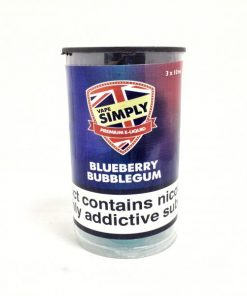 Blueberry Bubblegum E-Liquid By Simply Vapour