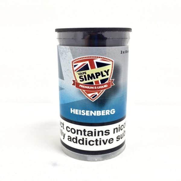 Heisenberg E-Liquid By Simply Vapour