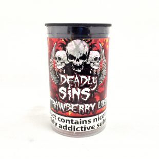 Strawberry Lush E-Liquid By Deadly Sins