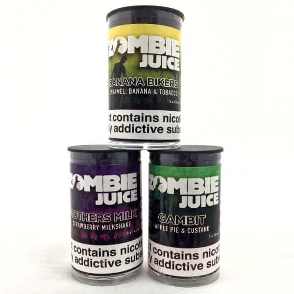 3 x Zombie Juice 80/20 Offer