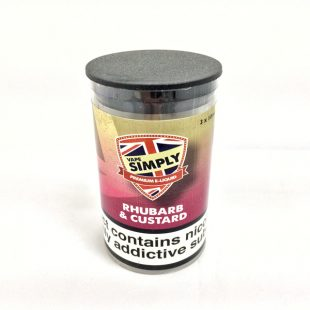 Rhubarb and Custard - Simply Vapour E Liquid