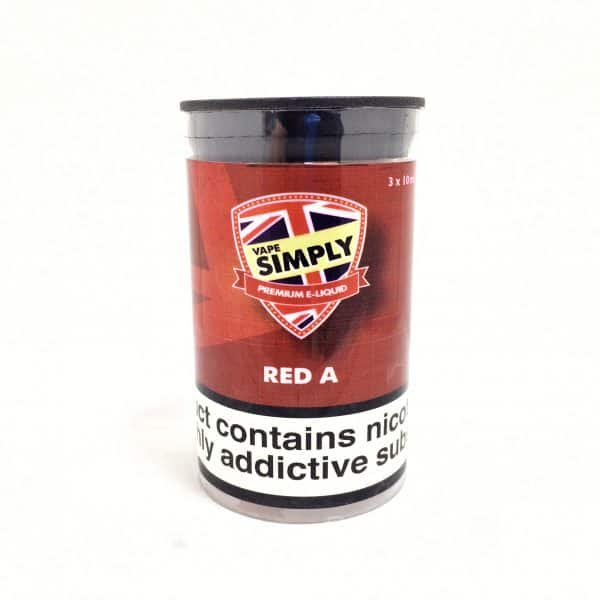 Red A - Simply Vapour E Liquid