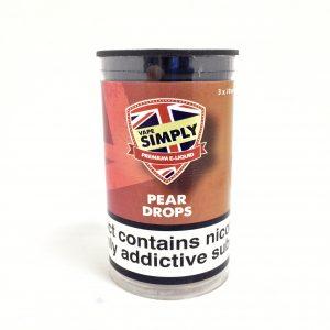 Pear Drops - Simply Vapour E Liquid