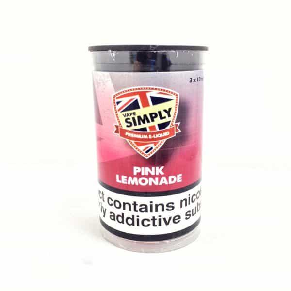 Pink Lemonade E-Liquid By Simply Vapour