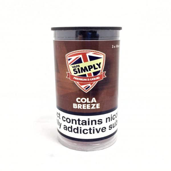 Cola Breeze - Simply Vapour E Liquid
