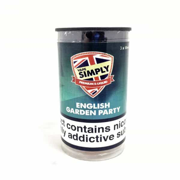 English Garden Party - Simply Vapour E Liquid