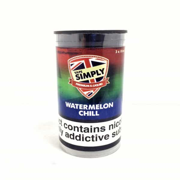 Watermelon Chill - Simply Vapour E Liquid