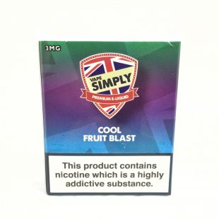 Cool Fruit Blast - Simply Vapour E Liquid