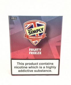 Fruity Freeze - Simply Vapour E Liquid