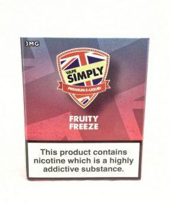 Fruity Freeze - Simply Vapour E Liquid
