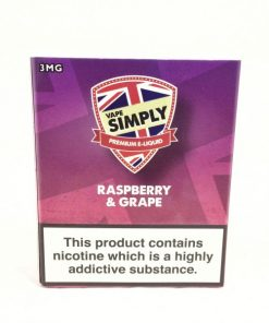 Raspberry & Grape - Simply Vapour