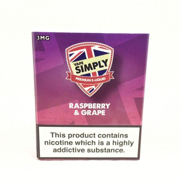 Raspberry & Grape - Simply Vapour