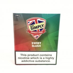 Sweet Slush - Simply Vapour E Liquid