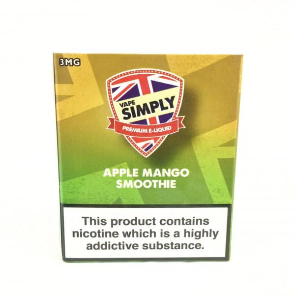 Apple & Mango Smoothie – Simply Vapour