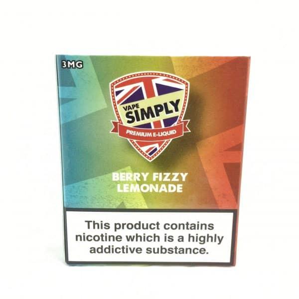 Berry Fizzy Lemonade – Simply Vapour