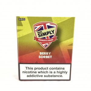 Berry Sorbet - Simply Vapour