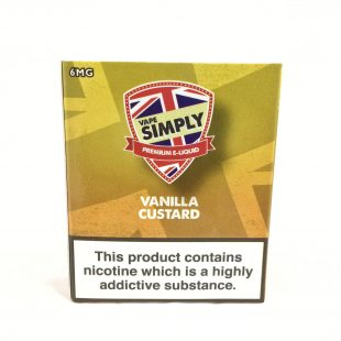 Vanilla Custard - Simply Vapour E Liquid