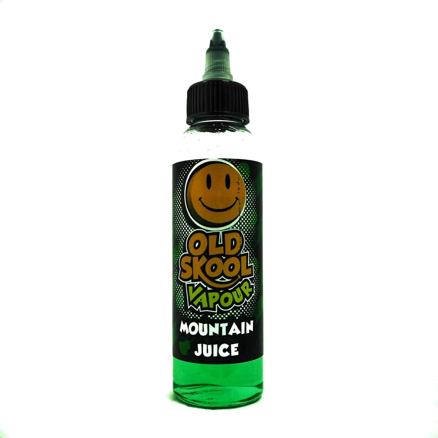 Mountain Juice  – OLD SKOOL VAPOUR! 80/20