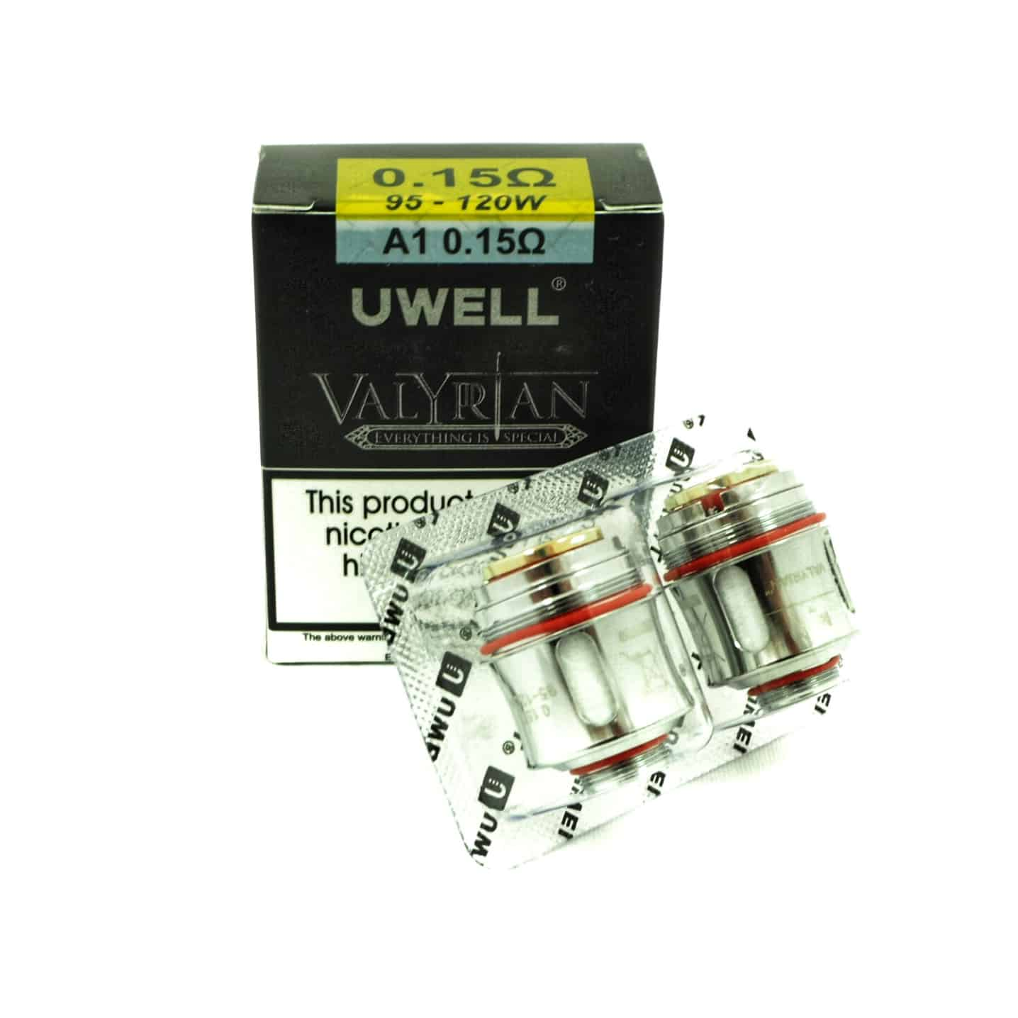 UWELL VALYRAIN REPLACEMENT 0.15 OHM
