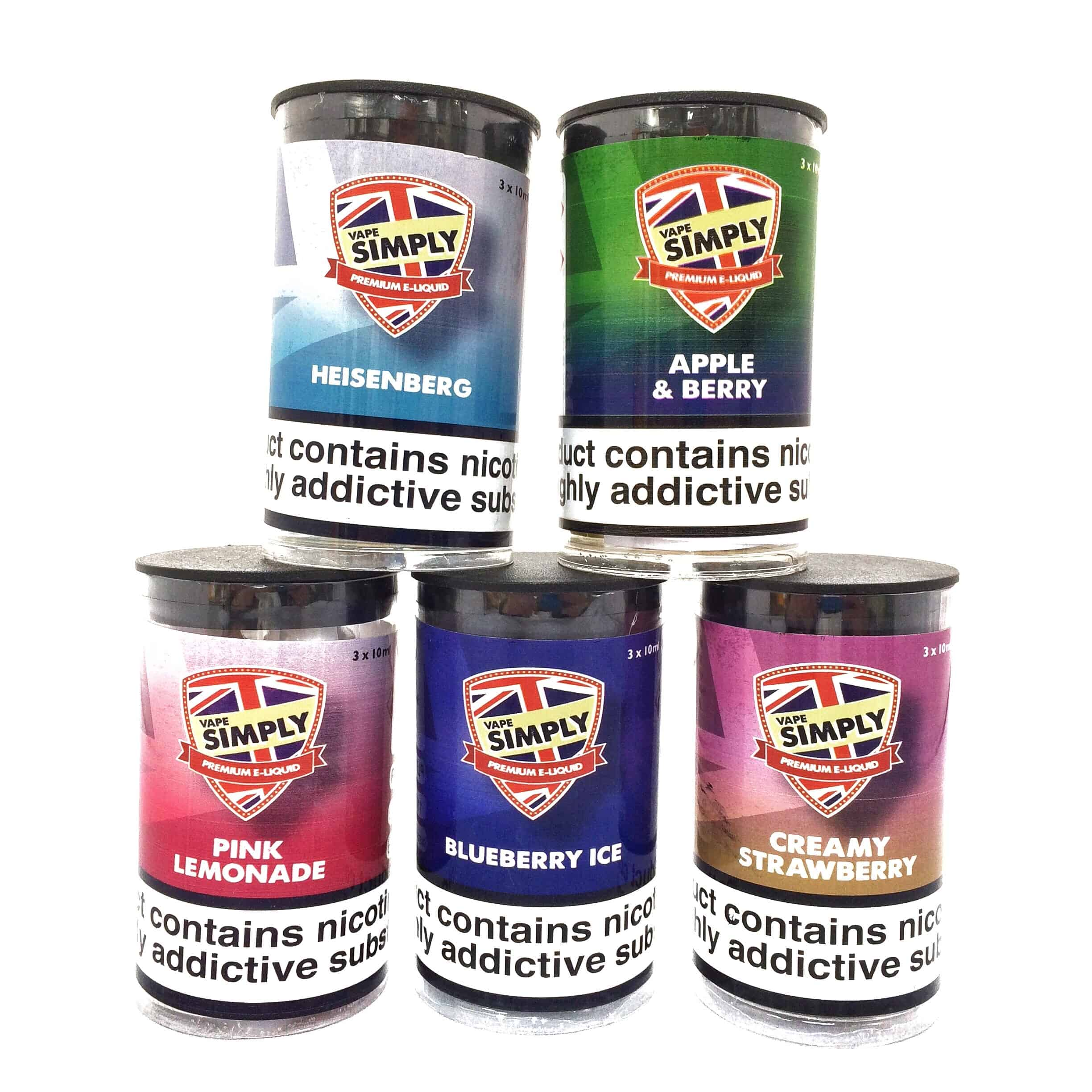 Simply 3*10ML Tub – Whilst Stock Lasts